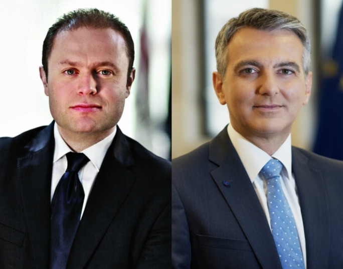 Labour leader Joseph Muscat continues to enjoy a substantial lead over Nationalist leader Simon Busuttil