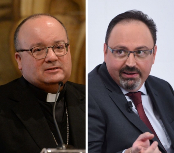 Archbishop Scicluna and Josef Caruana… angry political reactions