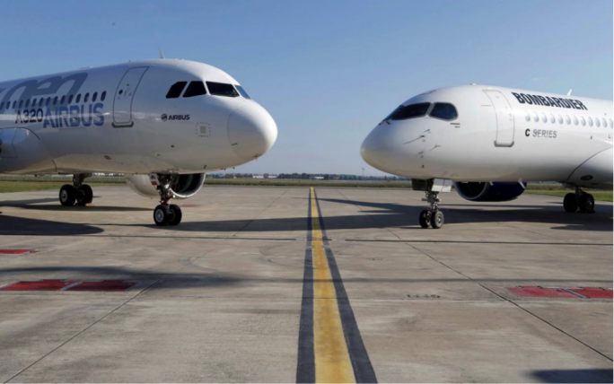 European Aircraft giant Airbus is taking a majority stake in Bombardier's controversial C-series Jet programme, which can lead to safeguard 1,000 jobs