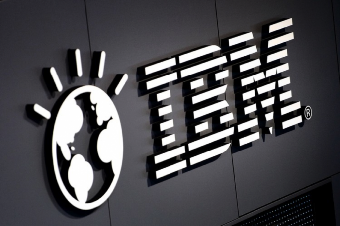 Shares of IBM surged over 9 percent on Wednesday after the company reported better-than-expected earnings