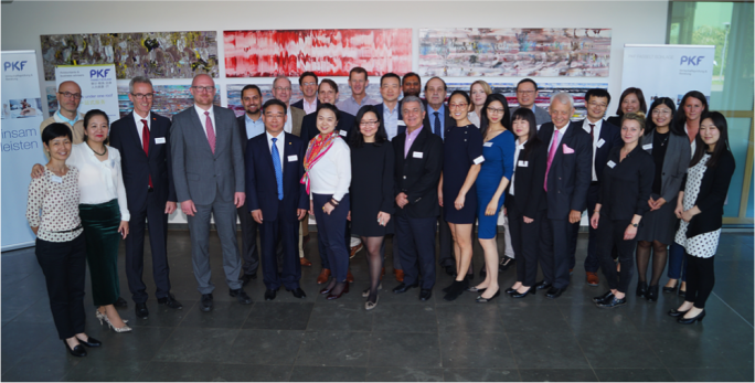 The China desk at each of the 10 participating firms underpin a unity of purpose
