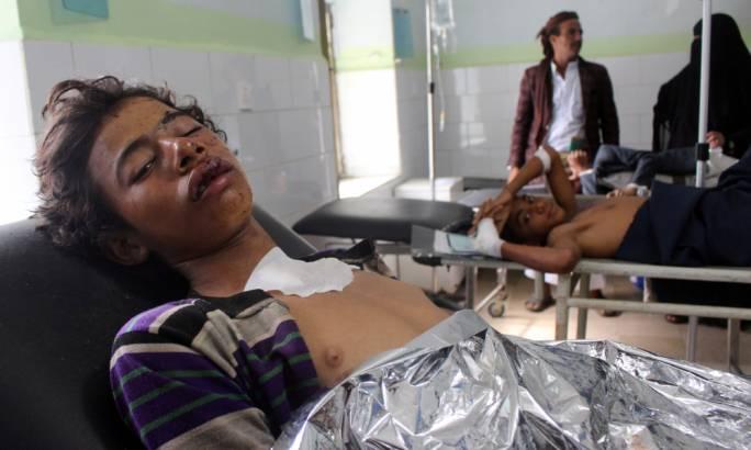 Saudi-led air strikes kill 20 at a Yemen wedding