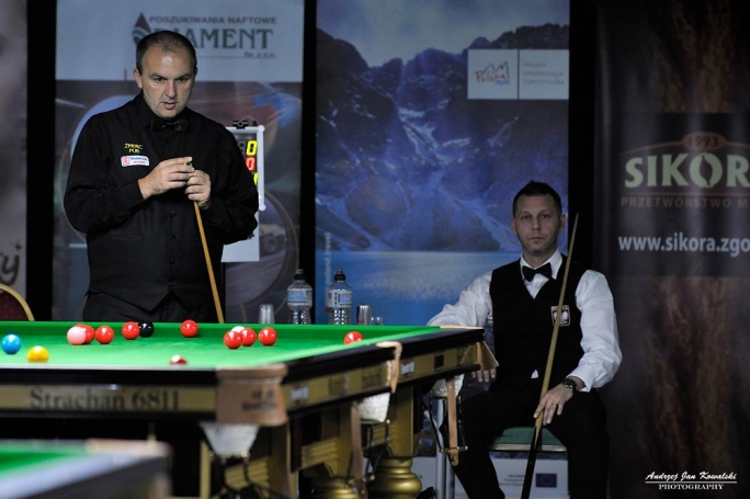 Alex Borg made it through to the second round of the Coral Scottish Open