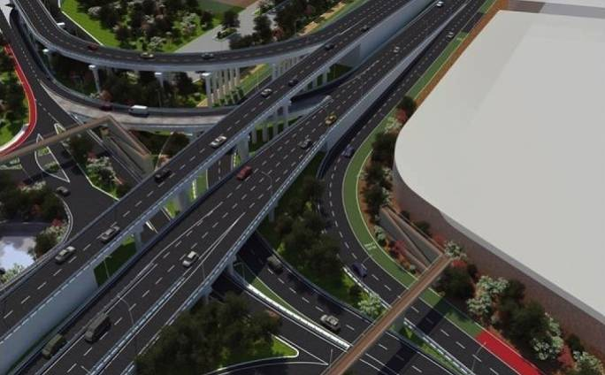 Works on the Marsa Junction will be carried out over nine phases and will cover an area of approximately 25,000sq.m