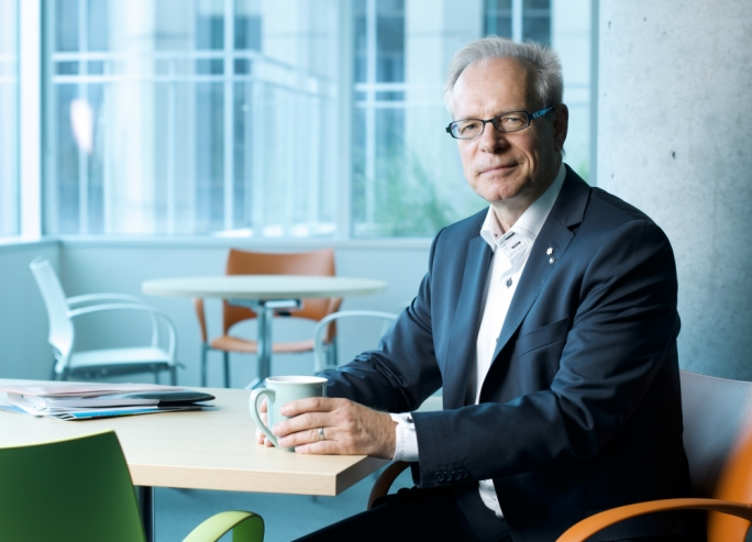 Simon Brault - Photo by Tony Fouhse