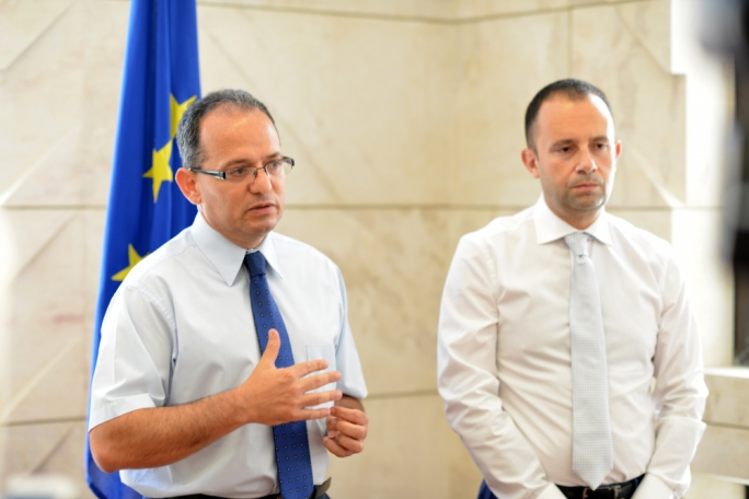 Potential PN leadership contestants Chris Said and Claudio Grech