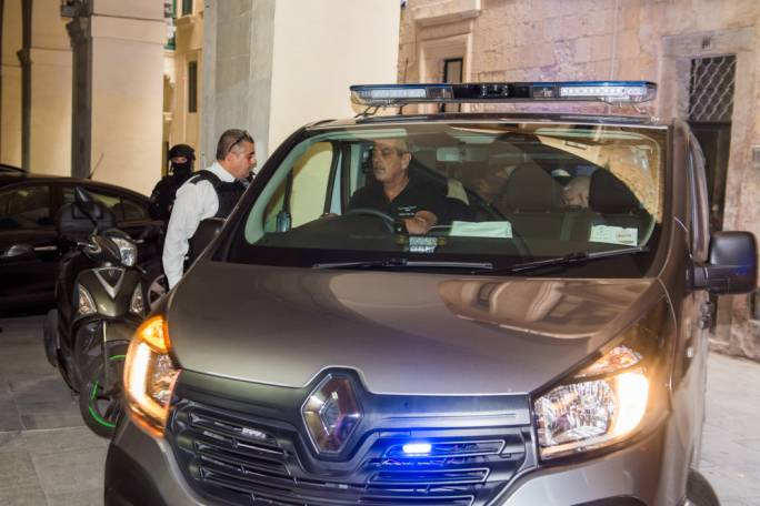 The suspects were taken to court on Thursday, charged with the assassination of Daphne Caruana Galizia