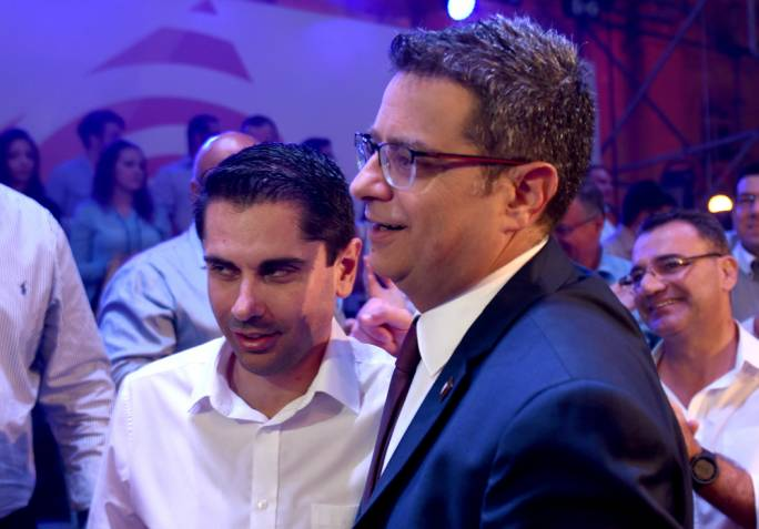 Debono was one of Adrian Delia's staunchest supporters throughout the leadership campaign
