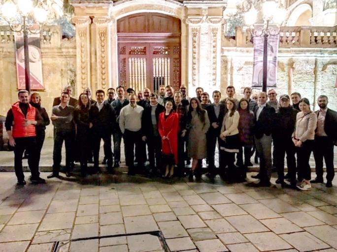 ERG workshop participants visit Mdina