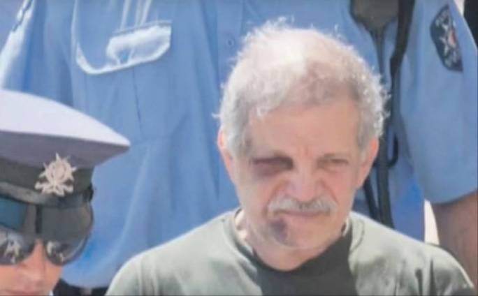 Gerald Galea the day he was arraigned in Gozo for the murder of John Spiteri in 2013