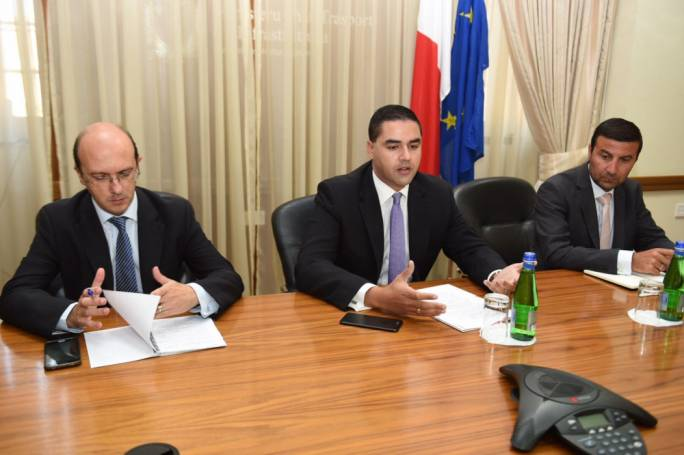 Ian Borg said he was urging Transport Malta to make better use of its cameras and aerial images to help direct traffic
