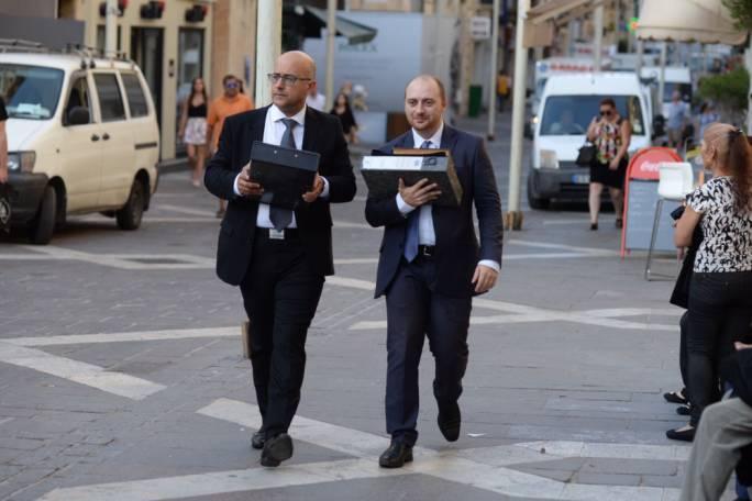 Lawyer and Nationalist MP Jason Azzopardi is representing Simon Busuttil