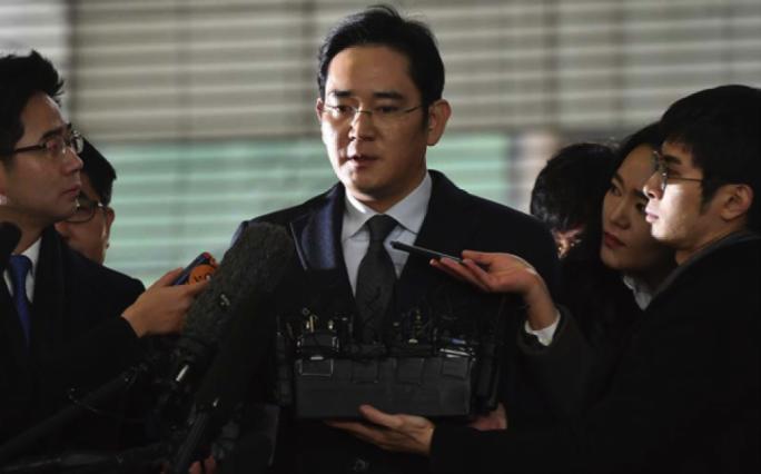 Samsung chief Jay Y. Lee