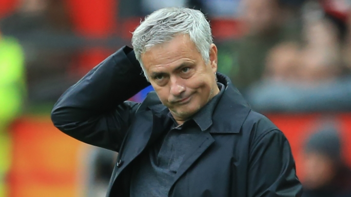 Jose Mourinho's confident his job at Manchester United isn't under threat