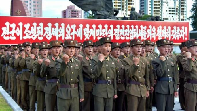 North Korea has stepped up its defiant tone against the US