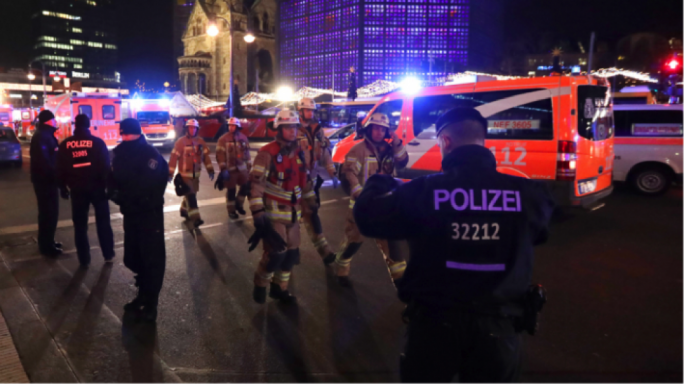 Monday has seen multiple terror-linked events, noticeably in Berlin and possibly Zurich