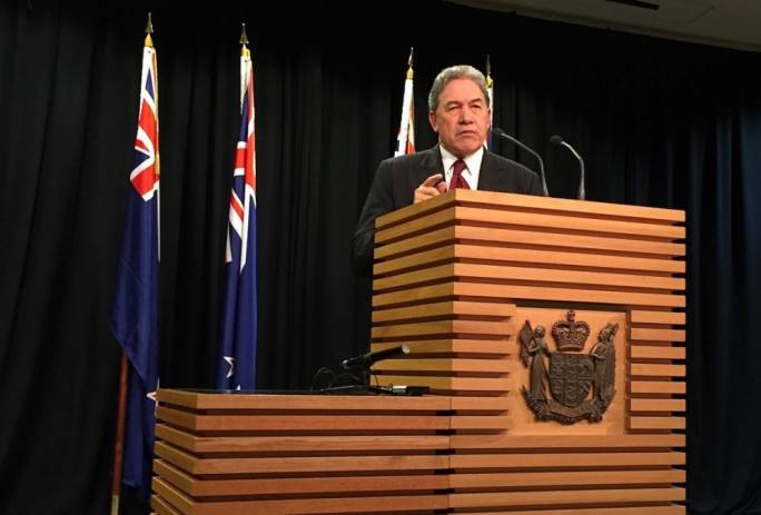 Winston Peters, New Zealand First party leader, has captured media attention after his outspoken comments on immigration. [Photo: Reuters]
