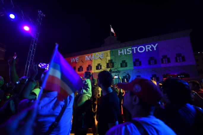 Malta votes in favour of gay marriage