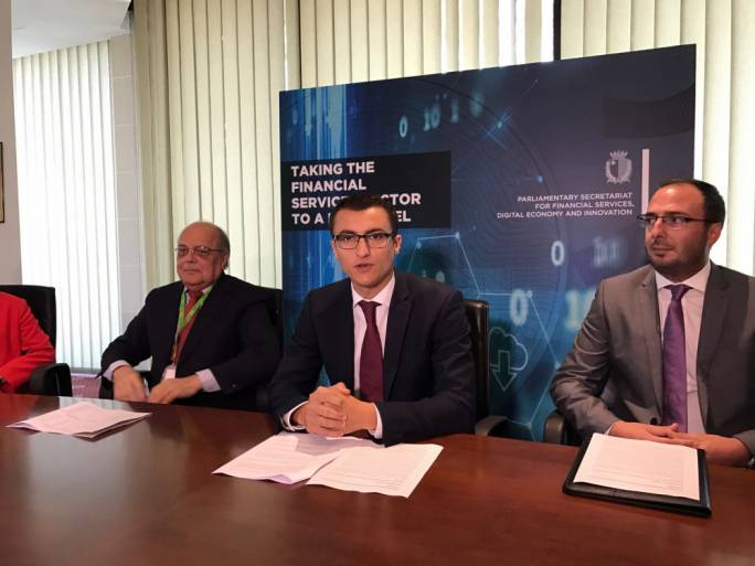 Parliamentary secretary for financial services, Silvio Schembri