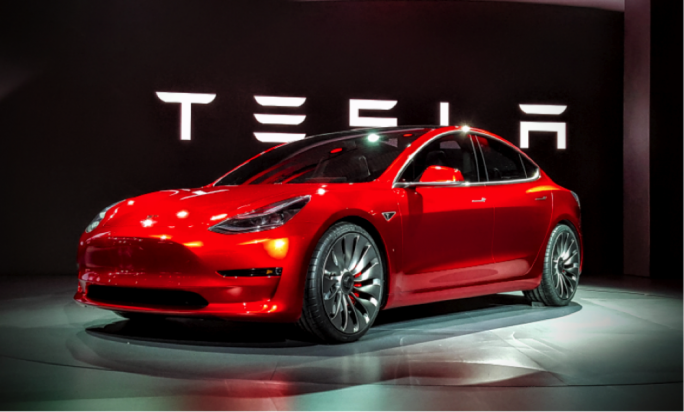 Tesla's new Model 3 car - starting to sell off at $35,000