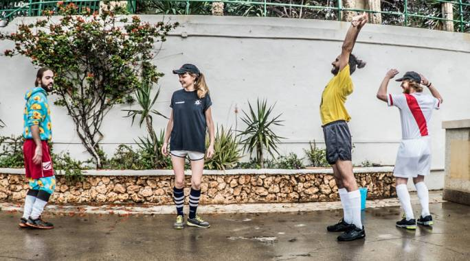 Fusing various genres together while aiming to be a crowd-pleasing live act, The Ranch will be launching their second album, 100 Smiles an Hour, on Wednesday