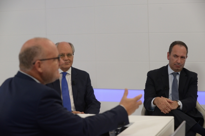 XTRA on the 2017 budget: finance minister Edward Scicluna and opposition spokesman Mario de Marco face Saviour Balzan's questioning