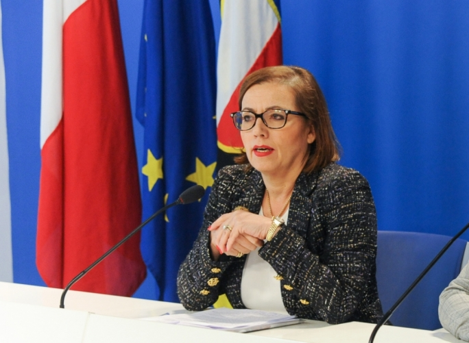 "PN executive president Ann Fenech: ""I have no problem whatsoever stating that a minister of state should not set up a company which is beyond scrutiny after having become a minister."""