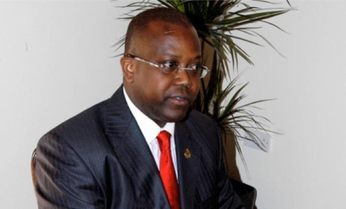 Former consul to Mauritius Keith Sampson Bristol.