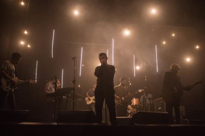 Late Interactive provided the lighting for the launch concert of Brikkuni's third album, Rub Al Khali (Photo: Lindsey Bahia)