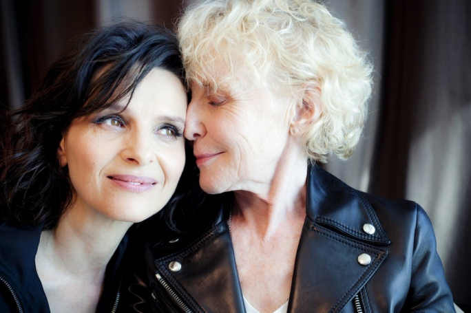 Dream team? Actress Juliette Binoche and director Claire Denis