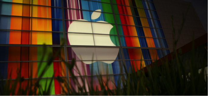 Shares of Apple Inc. surged further into uncharted territory Monday, after Warren Buffett's Berkshire Hathaway Inc. disclosed that it boosted its stake in the technology giant to nearly $20 billion