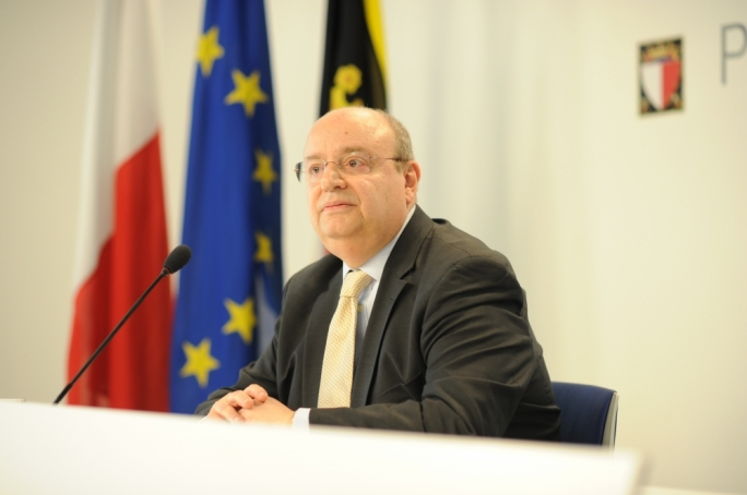 Francis Zammit Dimech replaced Therese Commodini Cachia who vacated her seat after being elected to the national Parliament