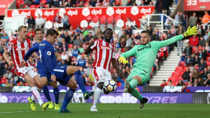 Chelsea: Alvaro Morata Nets Slick Hat-Trick As Blues Cruise Past Stoke