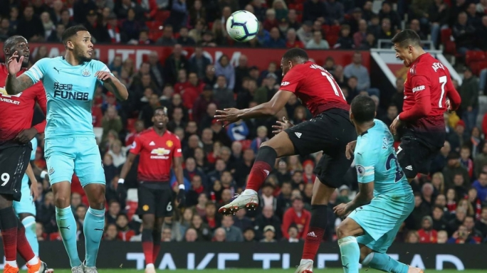 Alexis Sanchez scored the winner for Manchester United against Newcastle