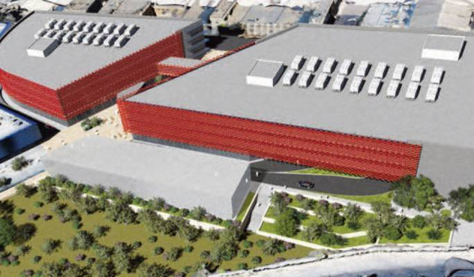 The proposed EMA premises Malta hoped to host at Smart City