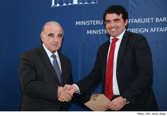 This year's Official Development Assistance was announced by foreign minister George Vella