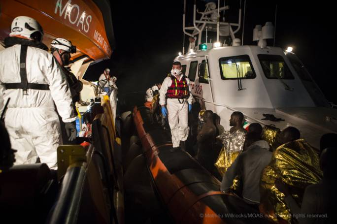 MOAS to the rescue: Migrants find a helping hand at sea