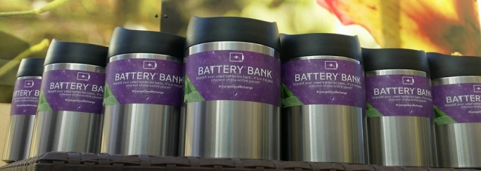 Deploying battery banks across all of its branches was part of Banif's Earth Month initiative