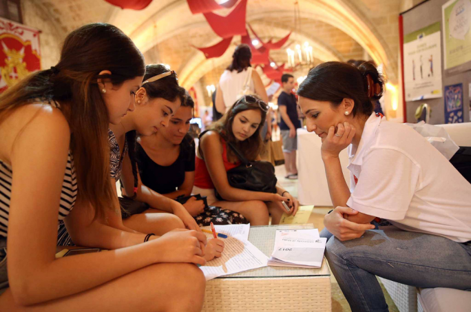 Over 1,000 students are expected to visit the fair in Malta and Gozo