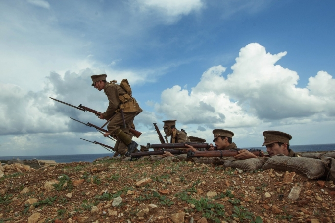 World War I re-enactment event ongoing at Rinella