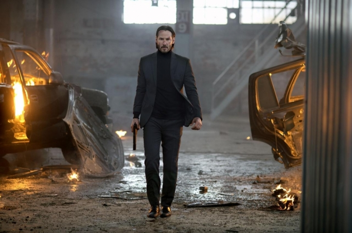 Unstoppable: Keanu Reeves as mob enforcer with a grudge, John Wick