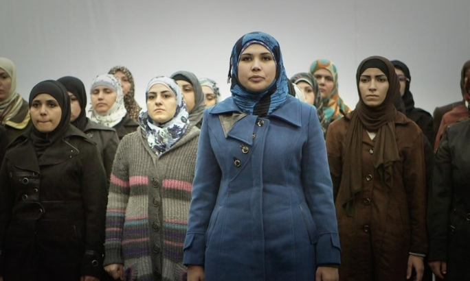 Queens of Syria documents the process of a group of displaced Syrian women transposing their experiences onto a production of Euripides's The Trojan Women