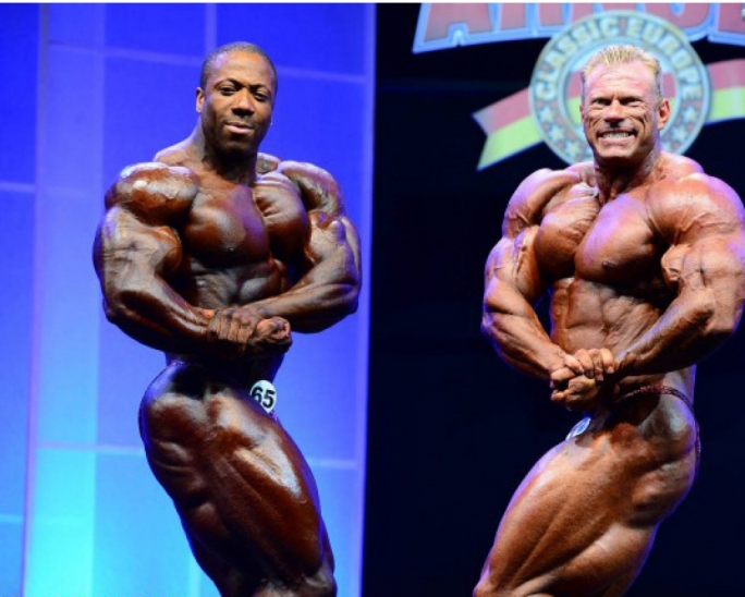 (L-R) Shawn Rhoden and Dennis Wolf