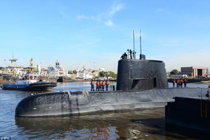 Missing submarine crew 'may still be ALIVE'