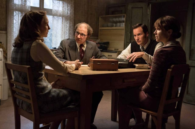 Clockwise from left: Vera Farmiga, Simon McBurney, Patrick Wilson and Frances O'Connor