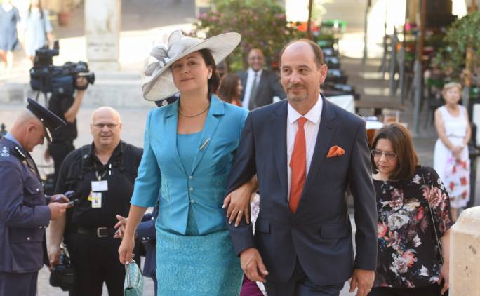 Marlene Farrugia and her partner Godfrey, elected to Parliament on the PN ticket, have both said they will not be running for leader of the Democratic Party