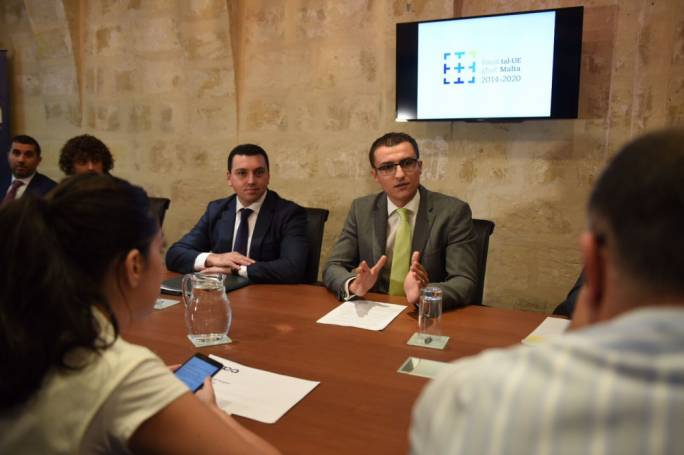 'The reality of internet addiction cannot be ignored', said parliamentary Secretary for financial services and innovation Silvio Schembri. (Photo: James Bianchi/Mediatoday)