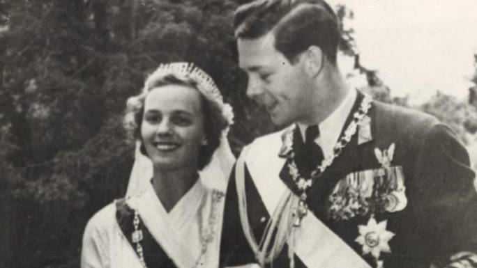 Princess Anne of Bourbon-Parma and Michael