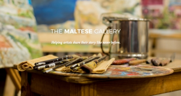 The Maltese Gallery aims to promote local artists to a global audience