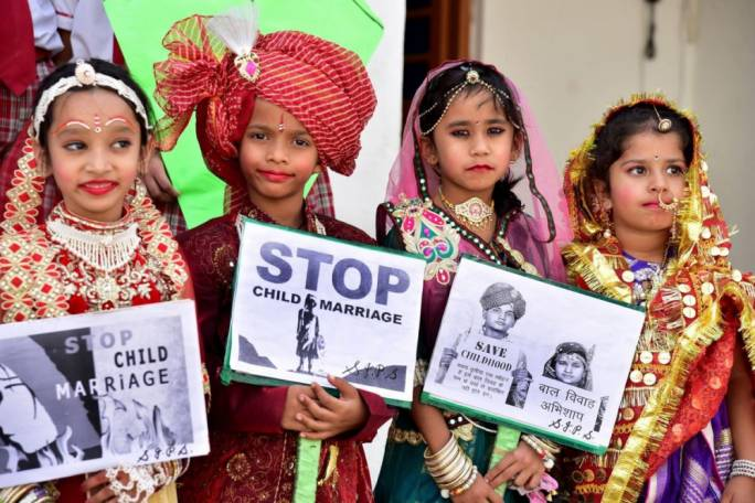 India's child marriage numbers drop, bring down global decline